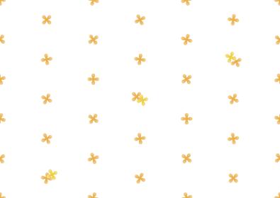 キンモクセイのシームレスなドット背景のイラスト 1