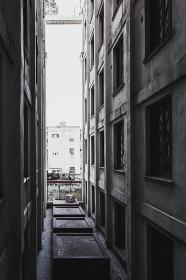 古い建築物の外装