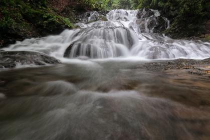 群馬県・魚止めの滝