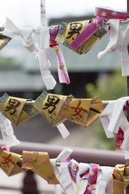 諏訪神社の男女みくじ