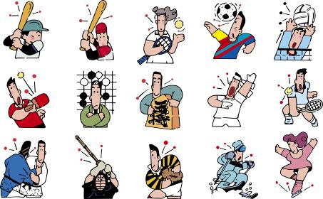 スポーツと趣味のカット集