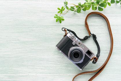 レトロな雰囲気のあるカメラ
