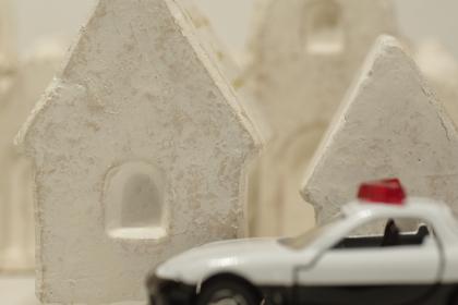 防犯、事件、事故、パトロールのイメージ素材