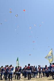 浜松祭り 凧あげ