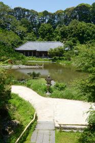 浄瑠璃寺 三重塔から本堂を望む 京都府木津川市