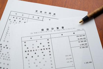 決算報告書 決算書 貸借対照表 損益計算書