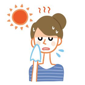 熱中症 女性 脱水症状