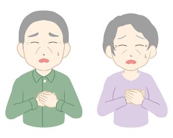 動悸 辛い 両手 高齢者(線無し)