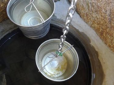 井戸と釣瓶