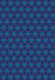 和柄のイラスト背景|日本の伝統模様 桜亀甲文様全面 縦位置紺系