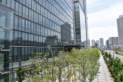 臨海副都心のオフィスビル