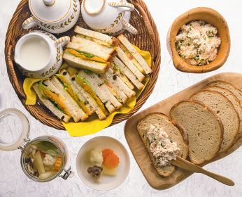 パンのある食卓
