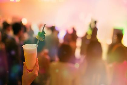 大規模なパーティー、ナイトクラブのイメージ