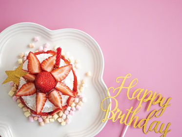 1歳のお誕生日に作るスマッシュケーキ バースデーケーキ