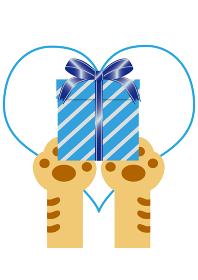 猫のプレゼント
