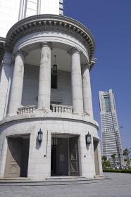 歴史的建造物とランドマークタワー
