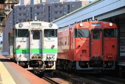 根室本線帯広駅 キハ40系