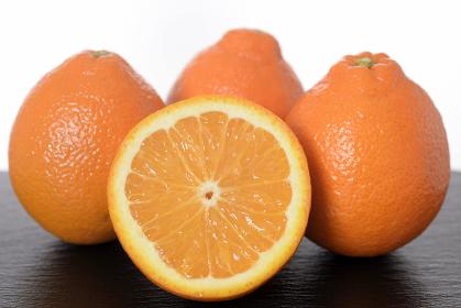 ミネオラオレンジの皿盛り