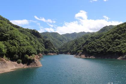 奥神流湖(群馬県上野村)