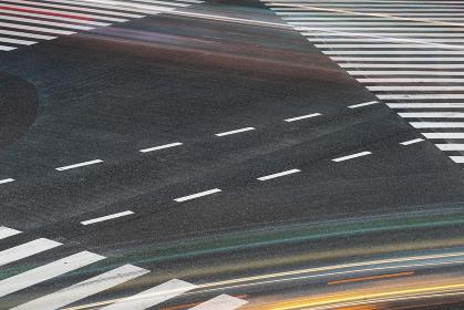 渋谷(スクランブル交差点)長時間露光