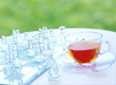 チェスとティーカップ