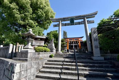 劔神社 鳥居 京都市東山区