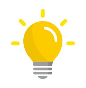 電球 アイデア 閃き ひらめき アイコン