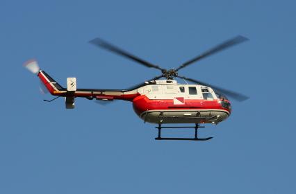 かつて日本でも使用されていたBOー105ヘリコプター