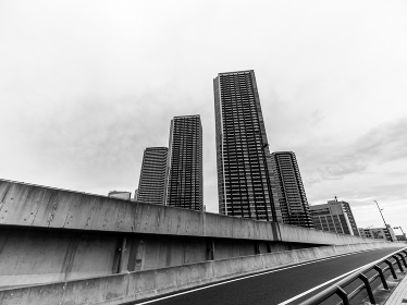 東京 晴海の風景