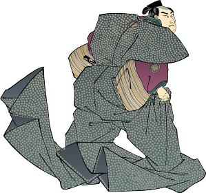 浮世絵 忠臣蔵 吉良上野介 その4
