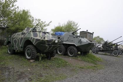 ウラジオストックの戦車