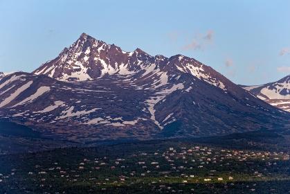 アンカレッジ 山 アメリカ アラスカ州