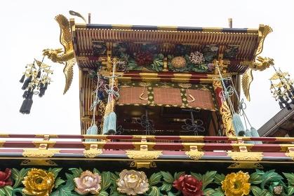 高山秋祭り、豊明臺の華麗な菊花と鳳凰
