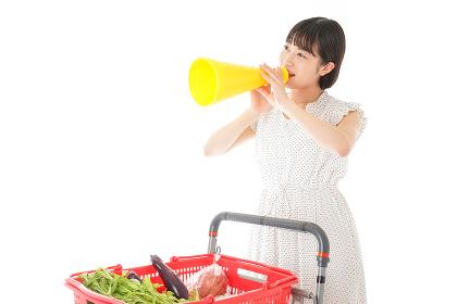 スーパーマーケット・特売・セールイメージ