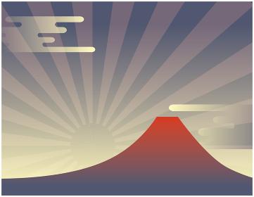 富士山が見える風景