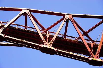 鶴仙渓 あやとり橋