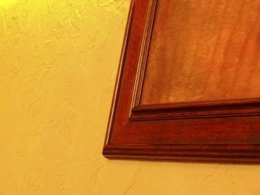 インテリアの木製の額縁
