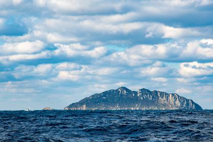 神宿る島冬の沖ノ島(福岡県)