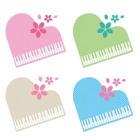 ピアノ グランドピアノ シルエット