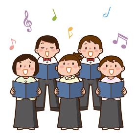 合唱する子供たち