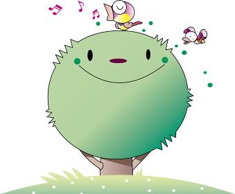 樹木のキャラクター