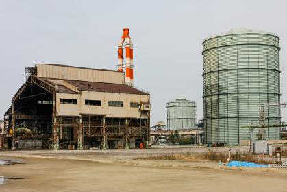 世界最大級の溶鉱炉、解体される第5高炉(蘇我市/千葉)