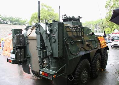 特殊武器防護隊の化学防護車(2010大阪城公園NBCテロ対策訓練公開)