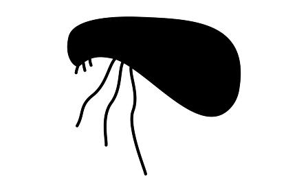 不快害虫のシンプルなアイコン、ノミ