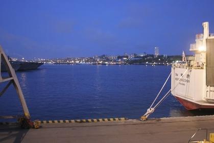 ウラジオストックの港