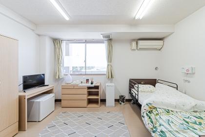 介護施設の個室