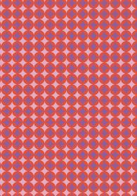 和柄のイラスト背景|日本の伝統模様 七宝文様帯全面 縦位置赤系