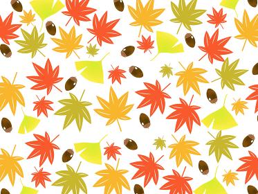 北欧風な秋の自然の背景