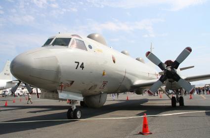 EP-3電子戦機(2010年岩国航空基地祭)