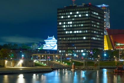 地方都市北九州市の都市夜景